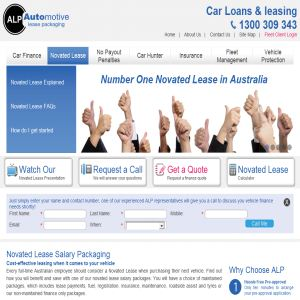 Novated car lease Australia