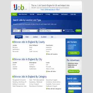 UK Jobs @ 1Job.co.uk | Jobs Search Engine