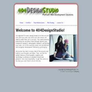 404 Design Studio - Premium Web Site Design and Application   Development