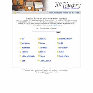 707 Directory - Categorized Directory List