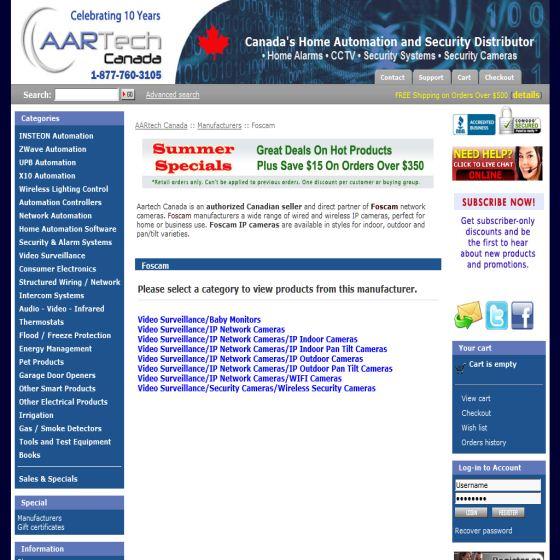 AARtech Canada - Foscam