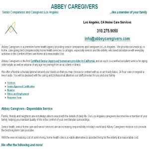 Los Angeles Caregivers