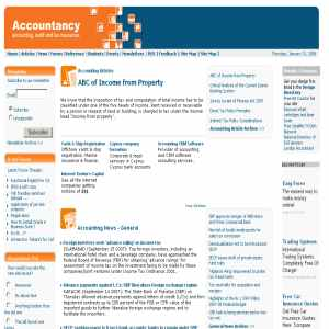 Accountancy | Accounting, Audit & Tax Resources