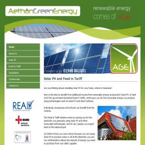Aethon Green Energy: Feed In Tariff