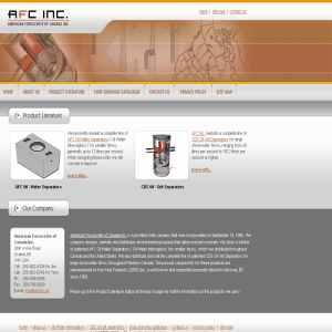 AFC Oil Water Interceptors - CDS Oil Grit Separators