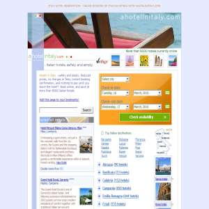 Italy Hotel Reservation