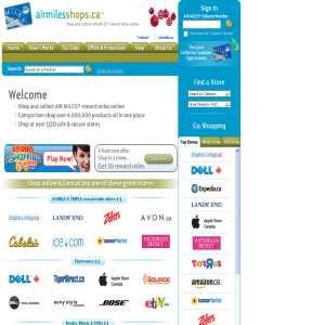 Airmiles Online Shopping
