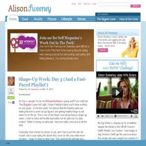 Actress Alison Sweeney