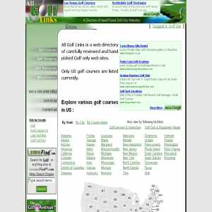 Golf-only Web Directory | Resorts | Courses
