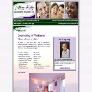 Counselling in Wimbledon: Allan Kelly