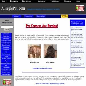 Allergicpet.com