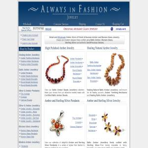 Baltic Amber Jewelry - Murano Glass Jewellery