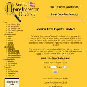 Home Inspector Directory - American