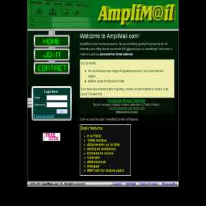 AmpliMail.com - Free email accounts