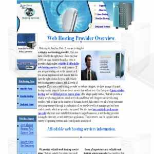 ArachnoNet web hosting services