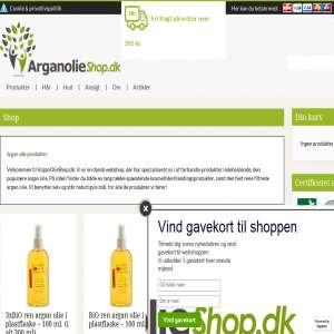 Arganolieshop.dk