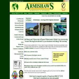 Armishaws removals and storage