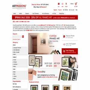 Art Passions - Fine Art Prints & Custom Frames
