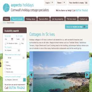 Aspects Holidays - Cottages in St Ives
