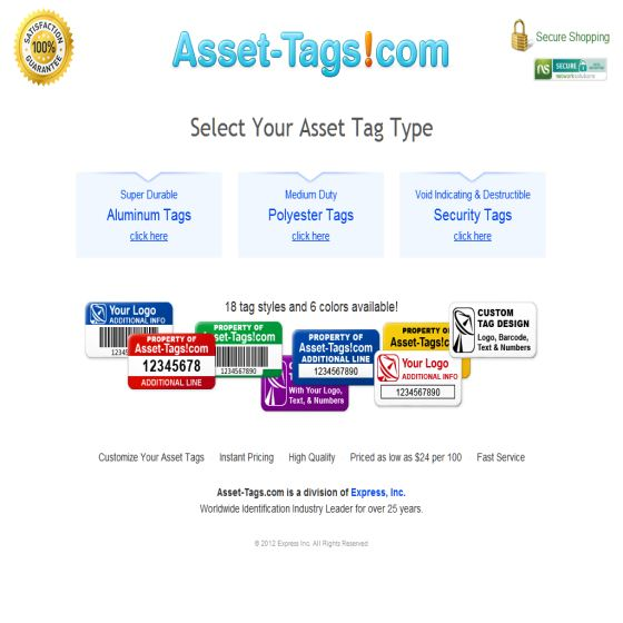 Asset-Tags