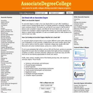 Associates Degrees