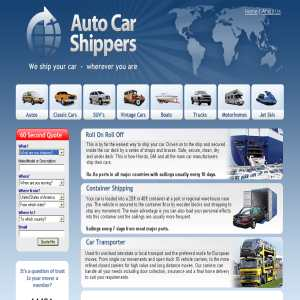 International Car Shipping US & Worldwide Vehicle Transporting