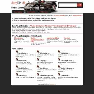 AutoDin.dk | Indeks af Danske Biler