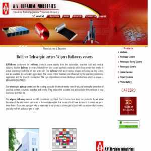 Bellows Manufacturer India