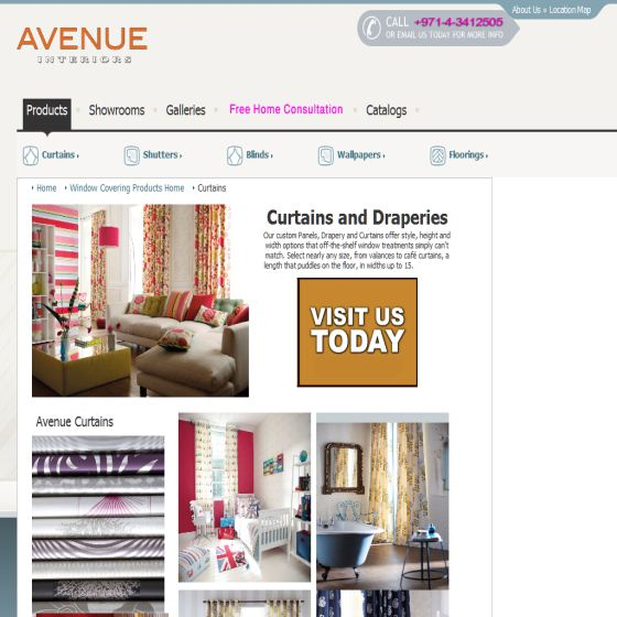 Avenue Interiors of UAE