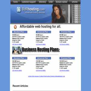 B2R, affordable web hosting