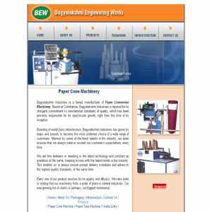 Paper Cone Machinery Manufacturer
