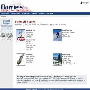 Barries Water and Winter Sports Gear