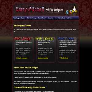 Web Designer UK Barrys Web Design