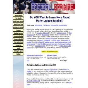 Major League Baseball Brainiac