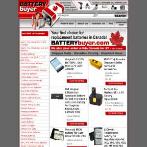 BatteryBuyer.com On-line Store  - Replacement Batteries