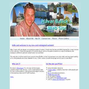 H�var Baucks Web Site