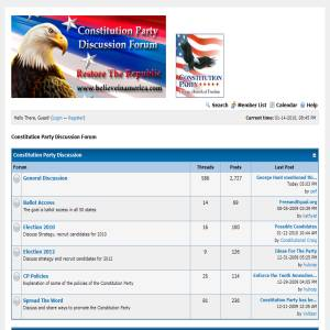 Constitution Political Discussion Forum