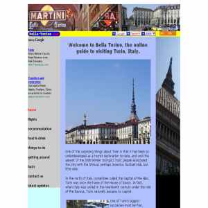 Tourist guide to Turin, Italy