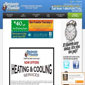Denver Water Heater Services | Ben Franklin Plumbing