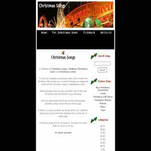 Xmas Songs Lyrics And Music