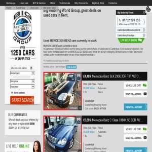 Used Mercedes Dealer Kent