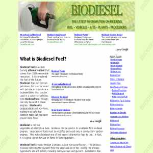 Make your own BioDiesel at home