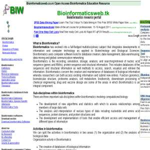 Bioinformatics Web