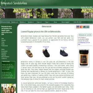Birkenstock sandals4less