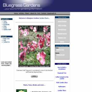 Bluegrass Gardens Plant Nursery - Trees & Plants
