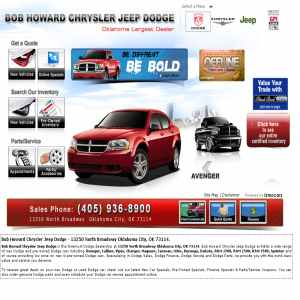 Dodge car dealer city oklahoma