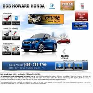 Business page 19 global weblinks directory for Honda dealers okc