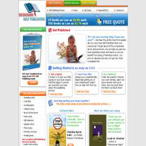 Bookmark Self Publishing