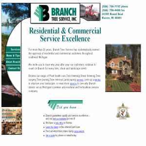 Branch Tree Service Michigan - Tree Trimming Michigan