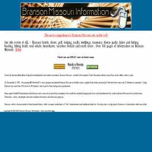 Branson Missouri Information